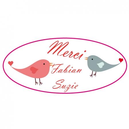 Sticker oiseaux