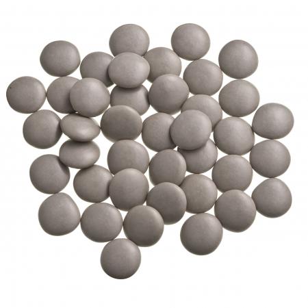 Dragées confettis taupe