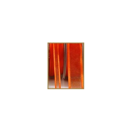 Ruban satin orange 10mmX50M