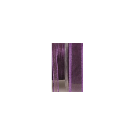 Ruban satin dark purple 10mmX50M