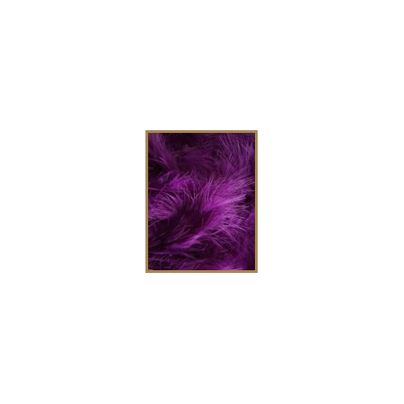 10 gr of PURPLE feathers