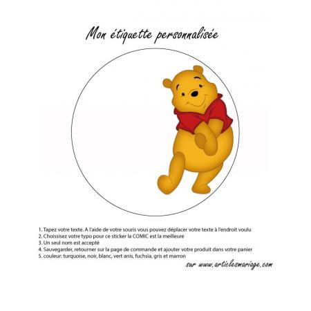Etiquette Winnie