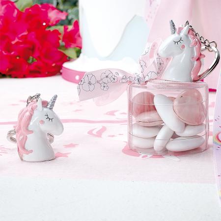 Licorne Pinkie porte-clefs