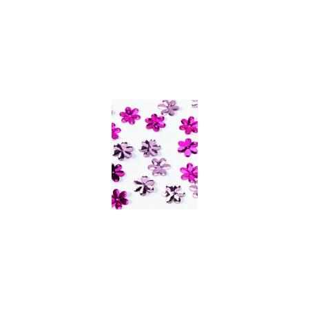 Glitters dark pink flower 15gr