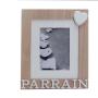 copy of Cadre en bois Parrain
