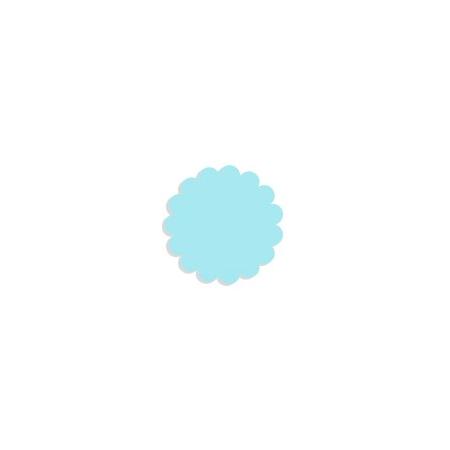 Tulle paper light blue