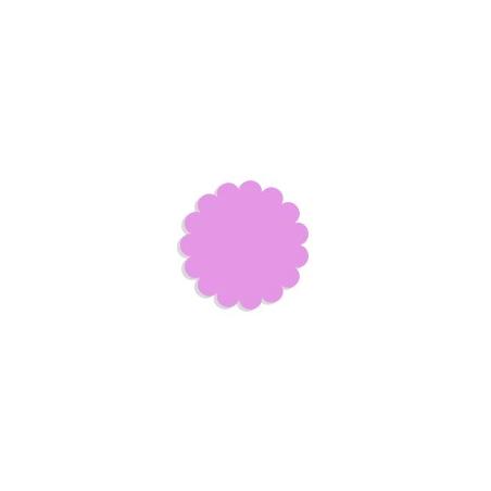 Tulle paper purple