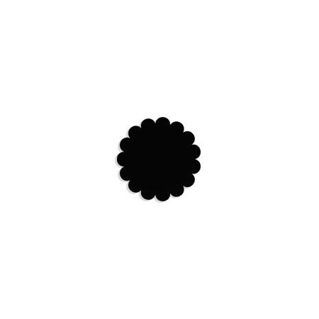 Tulle papier noir