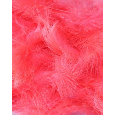 10 gr of PINK FLUO feathers