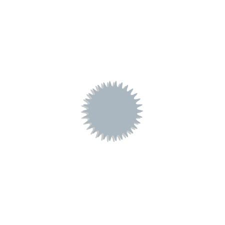 Tulle cristal blue sky Organza
