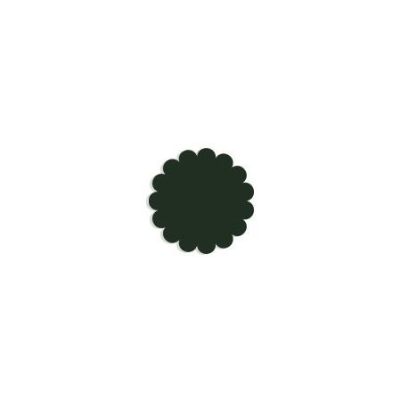 Tulle paper dark green