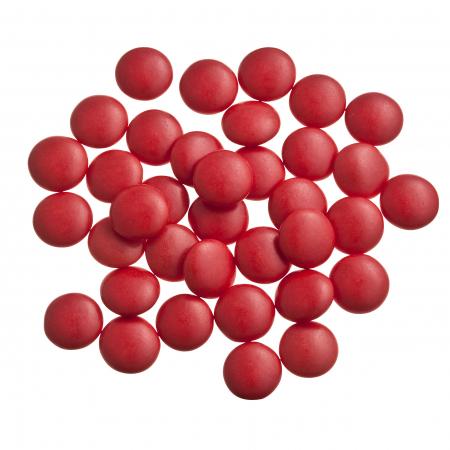 Red confetti candies