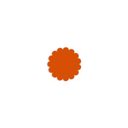 Tulle papier orange