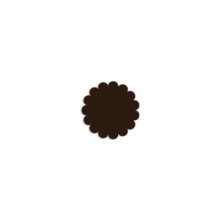 Tulle papier brun