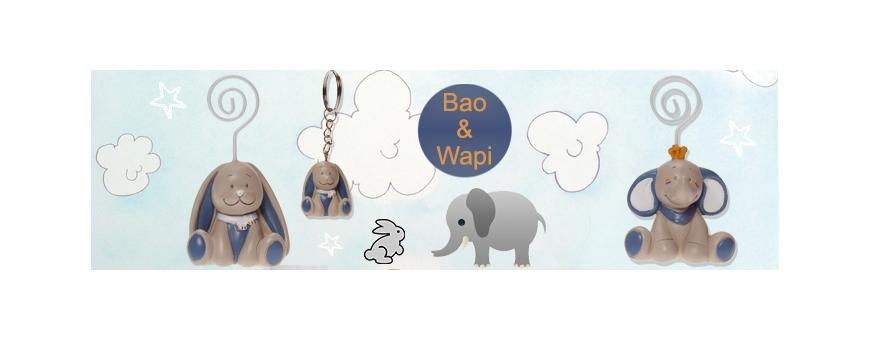 Les collections Noukies pour le baptême, la naissance, des figurines originales, Bao & Wapi, Anna Pili, Victor Lucien